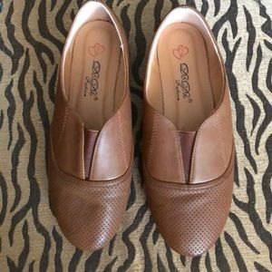 DbDk Fashion Brown Slip-Ons Loafers